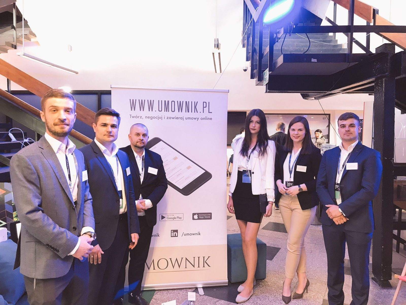 Umownik - European Startup Days Katowice 2018